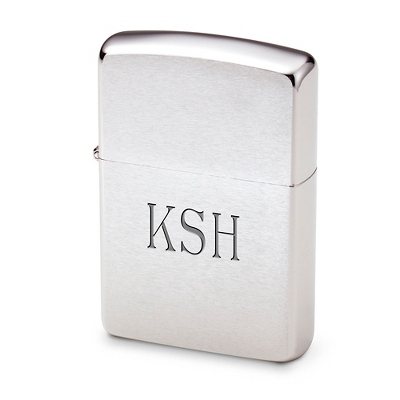 Engraved Chrome Zippo Lighter - UPC 41689197452