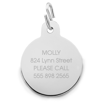 Dog Tag Round - Pet Tags & Gifts