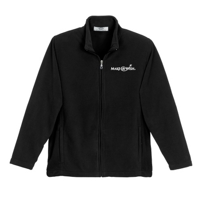 Black Fleece Zip Jacket - UPC 825008358591