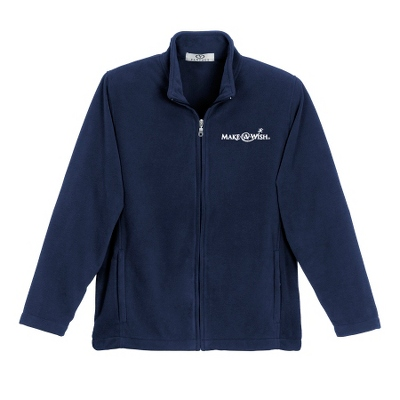 Sport Blue Fleece Zip Jacket