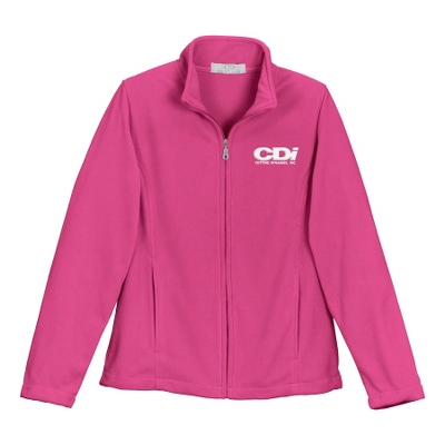 Bright Pink Fleece Zip Jacket - UPC 825008358843