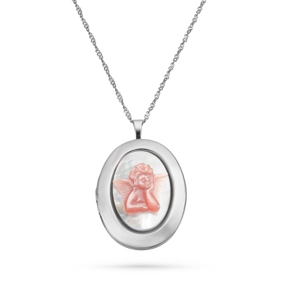Sterling Silver Lockets with Chain - 24 products
