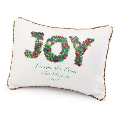 Joy Pillow - Holiday Decor