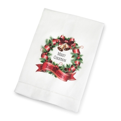 Wreath Towel - $15.00