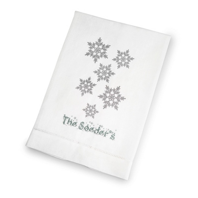 Snowflakes Towel - Kitchen Gifts