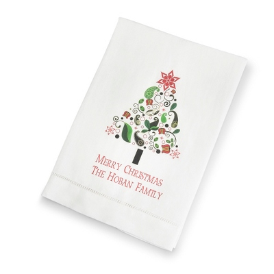Christmas Tree Towel - UPC 825008003446