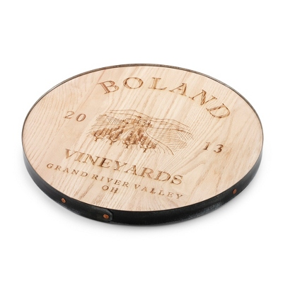 "18"" Vineyard Maple Lazy Susan"