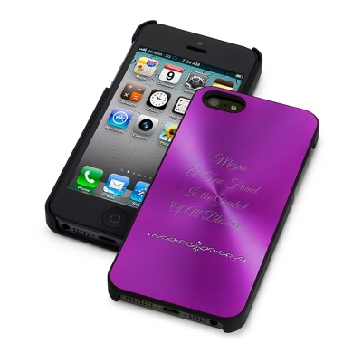 Purple iPhone 5/5S Case - Phone Cases & Accessories