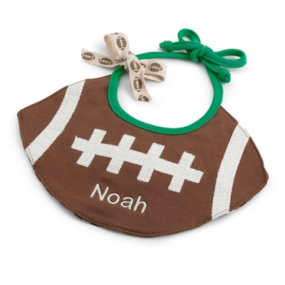 Football Bib - Baby Gifts for Boys