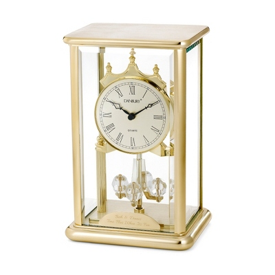 Brass Anniversary Clock - Home Clocks