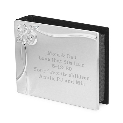 Engraved Anniversary Album