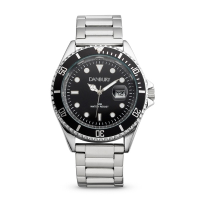 Midnight Steel Diver-Style Wrist Watch