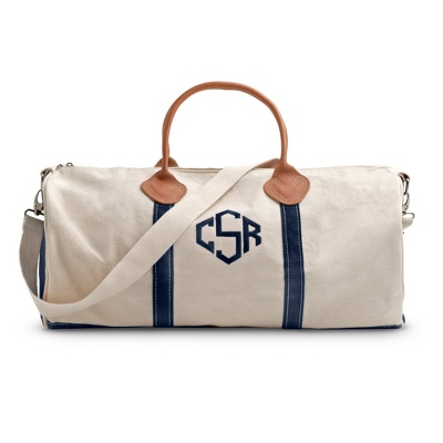 Natural Round Duffel