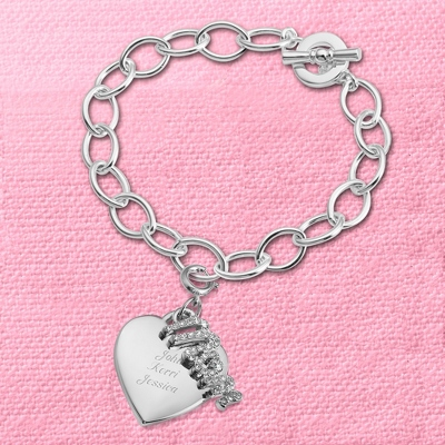 Personalized Charm Bracelets for Moms