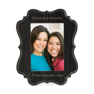 Personalized Black Photo Frames