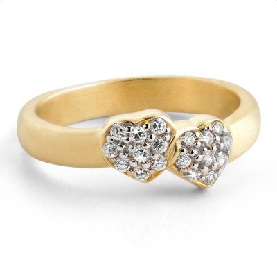 Couples Heart Ring
