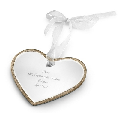 Heart Mirror Ornament