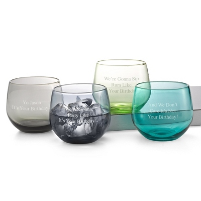 Green & Blue Tumblers - UPC 825008007765