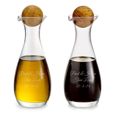 Oil & Vinegar Bottles - $25.00