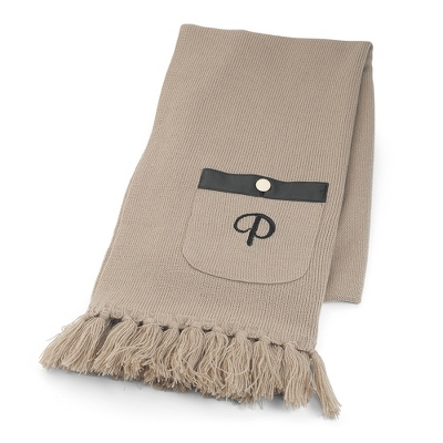 Oatmeal Pocket Scarf - $24.99