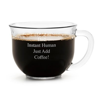 Glass Coffee Mug - Grad to Grad Gifts