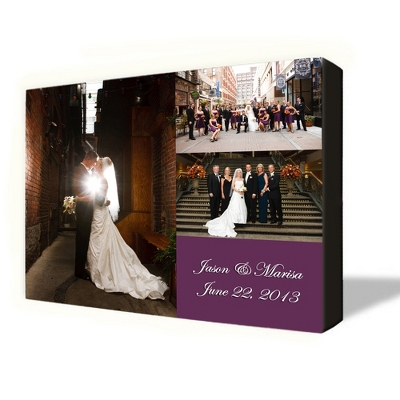 3 Photo Canvas Collage 24X30 - $185.00
