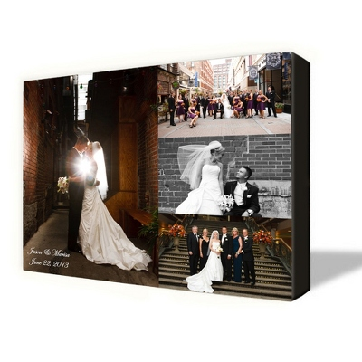 4 Photo Canvas Collage 24X30 - UPC 825008008069