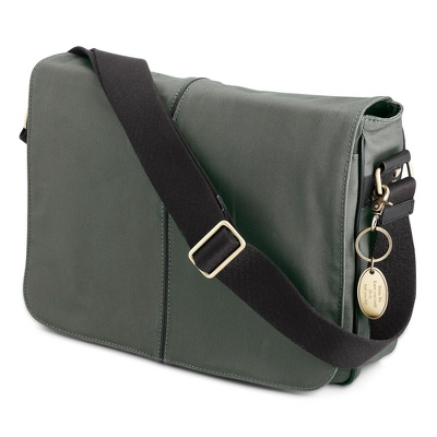 Olive Messenger Bag