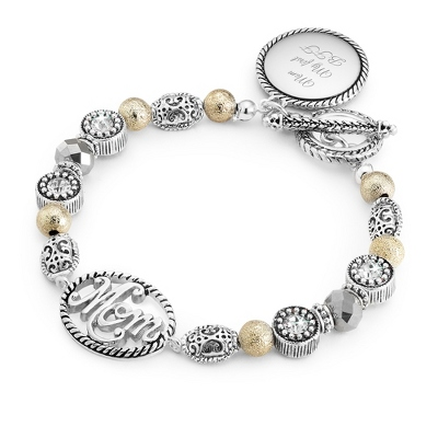 Personalized Bracelets for Moms