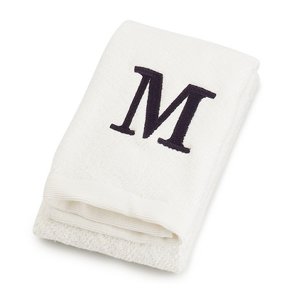 White Hand Towel - Towels & Soaps