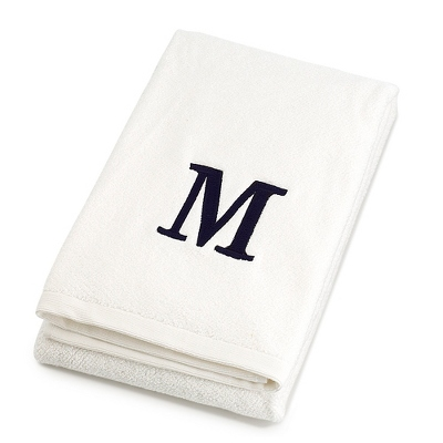 Personalized Embroidered Bath Towels