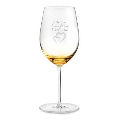 Amber Wine Glass - Drinkware for Her