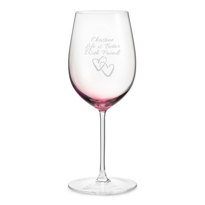 Amethyst Wine Glass - Drinkware for Her