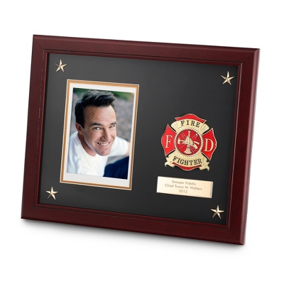11x14 Fire Fighter Medallion Frame