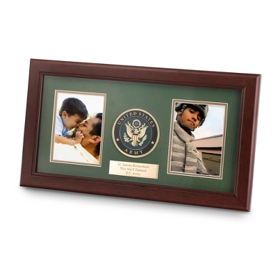 Dual Engraved Photo Frame