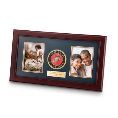 8x16 United States Marine Corps Dual Frame