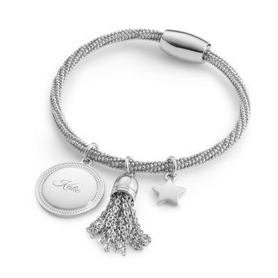 Star and Tassel Bracelet with complimentary Filigree Keepsake Box