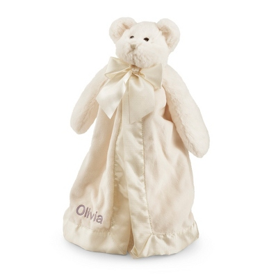 Personalized Teddy Bear Baby Blankie