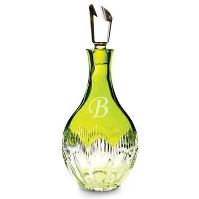 Personalized Waterford Mixology Lime Decanter by Things Remembered