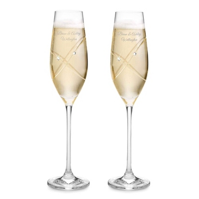 Royal Doulton With This Ring Toasting Flutes - Romantic Wedding