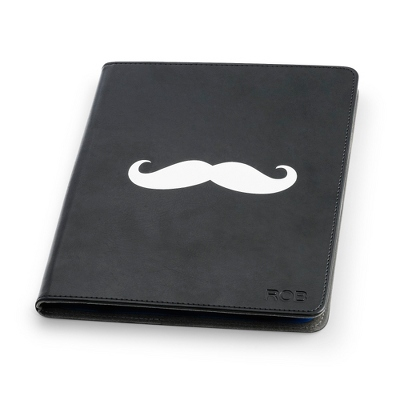 Mustache iPad Case - Tech Gifts for Her