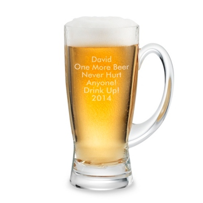 Wedding Custom Beer Glasses - 4 products