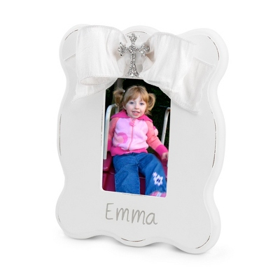 Personalized Cross Picture Frame