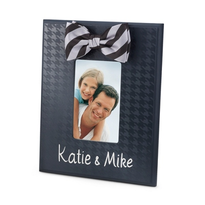 Black Personalized Picture Frames