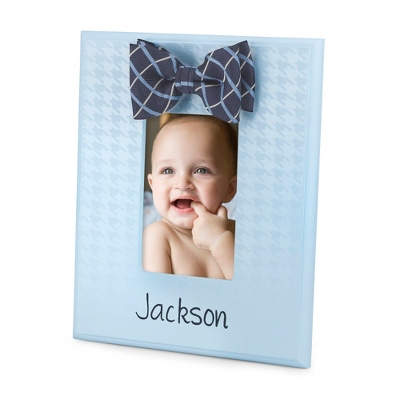 Light Blue Bow Tie Frame - UPC 825008017436