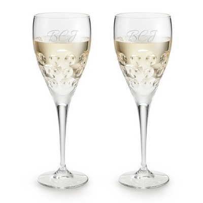 Bubble Wine Glass - UPC 825008017641