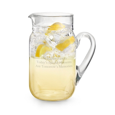 Personalized Glass Pitcher - 10 products