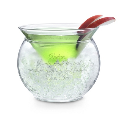 Thriller Chiller Martini Glass - UPC 825008017726