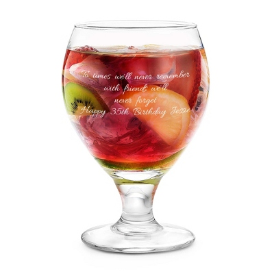 Sangria Glass - UPC 825008018006