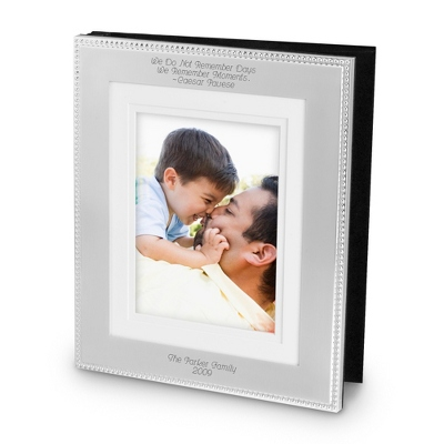Silver Beaded 8x10 Album - UPC 825008018327